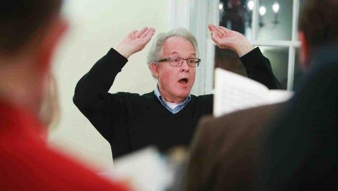 CoroAllegro's longtime director Jack Warren Burnam is looking forward to a new beginning, post-retirement.