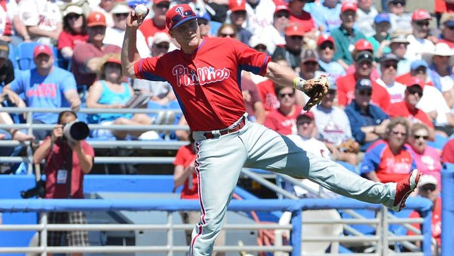 Since starting 0 for 13 this spring, Phillies third baseman Cody Asche has hit .280.
