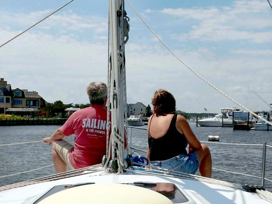SailTime Jersey Shore offers members rides aboard their two sailboats.