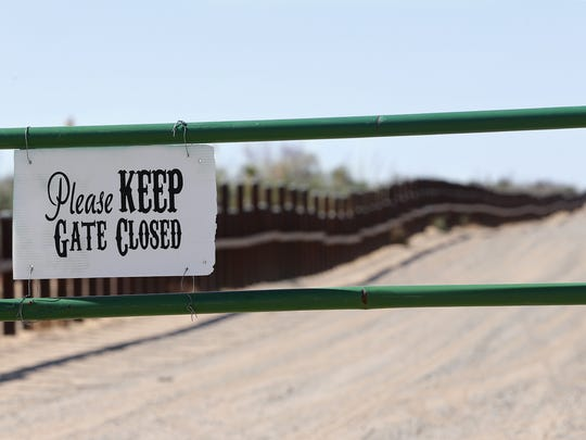 The border wall will soon replace the current vehicle