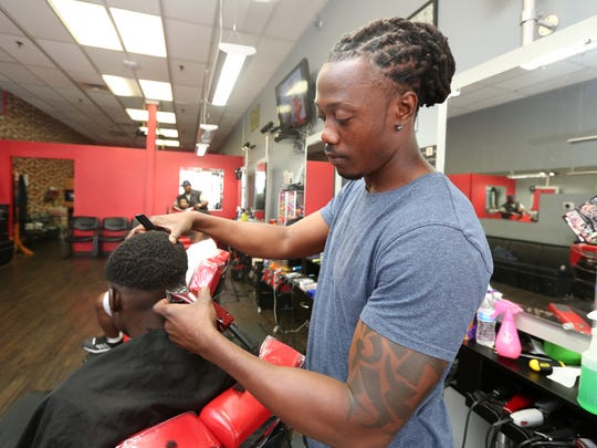 James Charles of Classic Cutz Barber Shop in Spring Valley