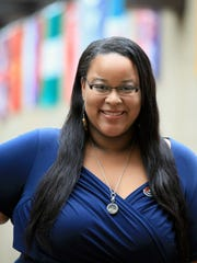 Stephanie Paredes, co-founder of the Rochester Latino Theatre Company and manager of multicultural programs at Rochester Institute of Technology, uses her positions to foster conversation about diversity within the Rochester community.