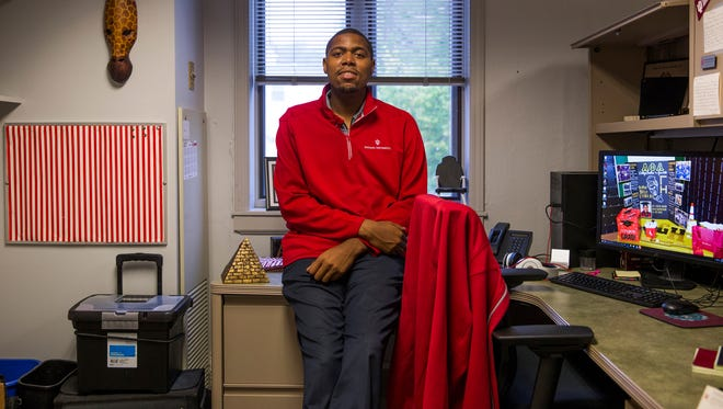 """A lot of my teachers would tell me that I wouldn't make it past the twelfth grade,"" said Treon McClendon, who is now the assistant director of diversity recruitment and outreach at Indiana University Bloomington. ""I was either going to be incarcerated or dead because of my behavior and the track I was going down."""