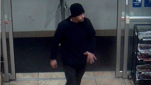 Fairview Township Police are asking for the public's help in identifying this man, suspected in a rash of vehicle break-ins.