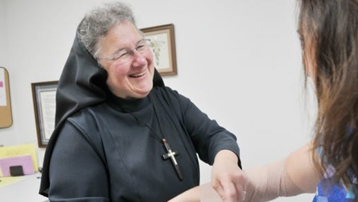 Sister Mary Rebecca Koterba is the new executive director of Catholic Family Service for the Diocese of Saginaw.