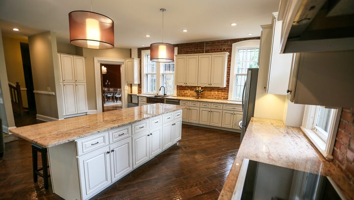 The biggest renovation became the handsome kitchen