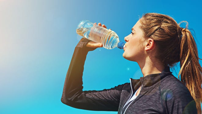 A steady intake of water throughout the day is essential to make sure your body is functioning properly.
