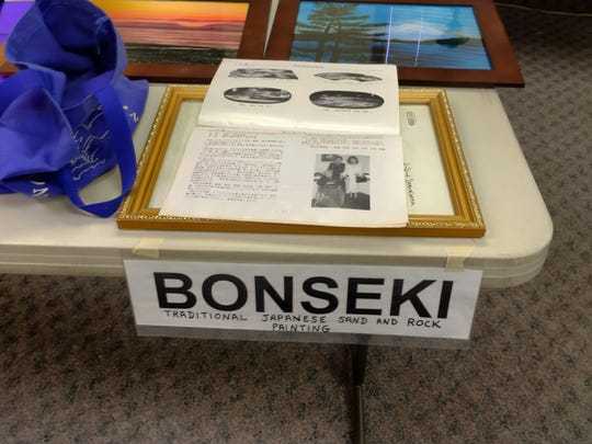 Lyons resident Herb Bastuscheck recently shared his artistic Bonseki skills and knowledge at the Santiam Senior Center.