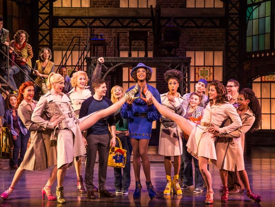 """The cast of the national tour of """"Kinky Boots."""""""