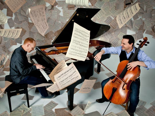 The Piano Guys will perform back-to-back concerts Oct.