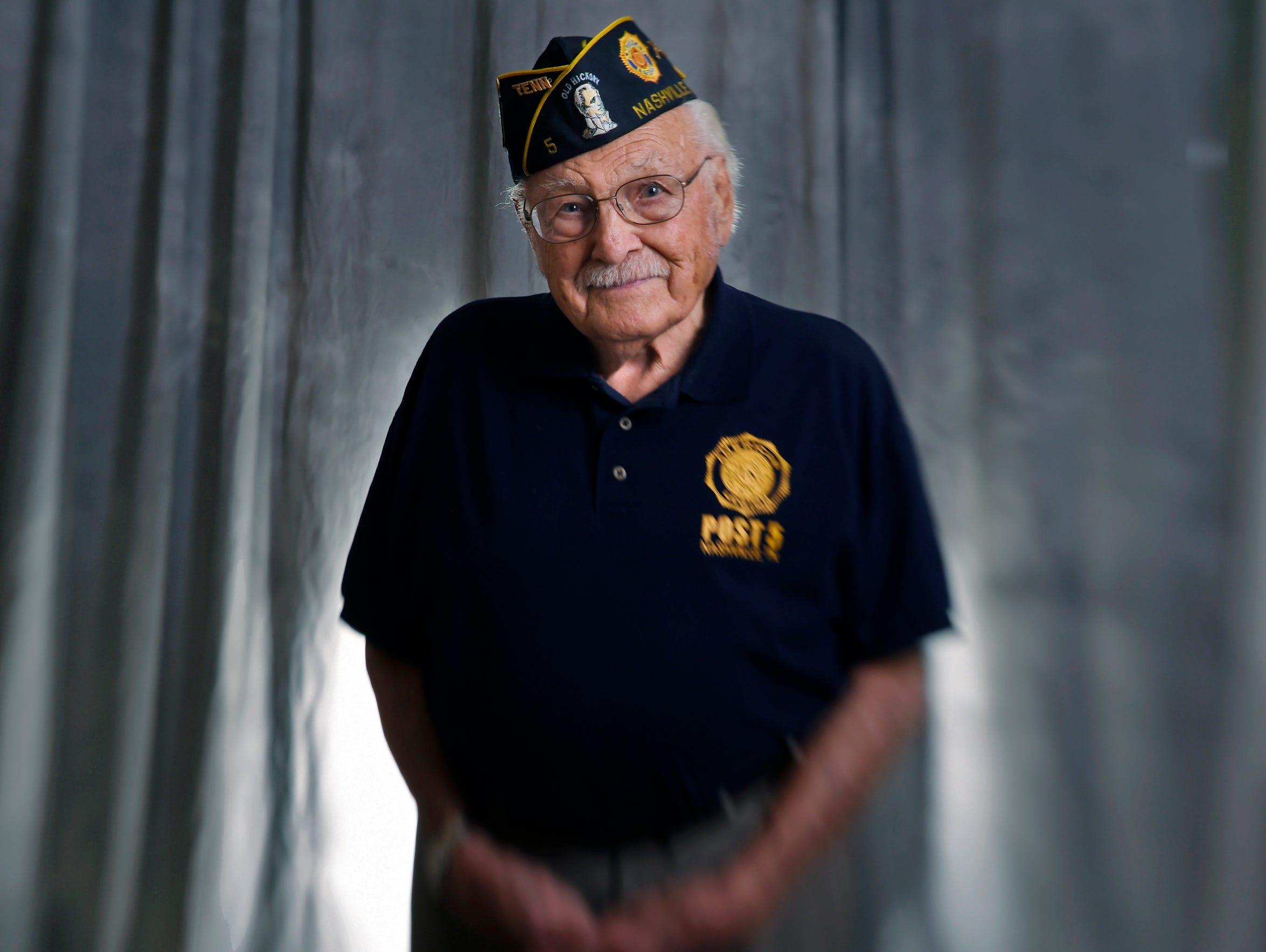 Em Ghianni is a World War II Army veteran. He was stationed