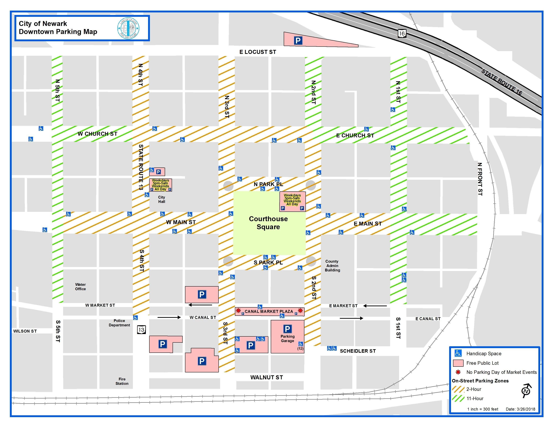 Downtown parking enforcement not fines begins Monday