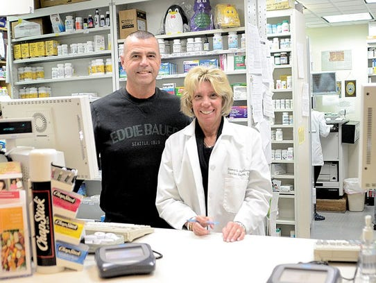 Haworth Apothecary owners Bill and Denise Hayes.