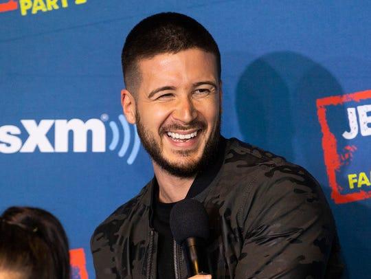 Vinny Guadagnino of MTV's 'Jersey Shore.'