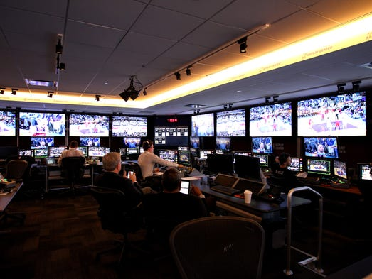 Take a look inside the NBA's state-of-the-art replay