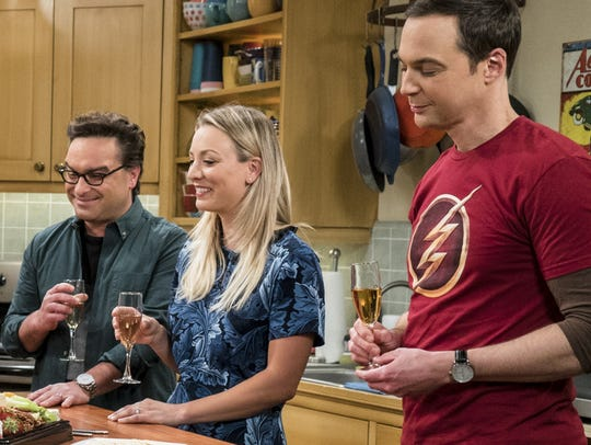 The super-smart scientists of CBS's 'The Big Bang Theory'
