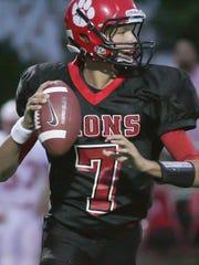 Red Lion starting quarterback David Sills, then in
