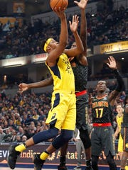 Mar 9, 2018; Indianapolis, IN, USA; Indiana Pacers