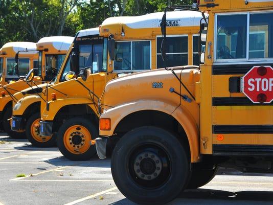 Back to school school bus