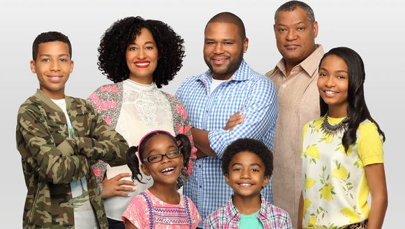 Anthony Anderson Blackish cast ABC 2014
