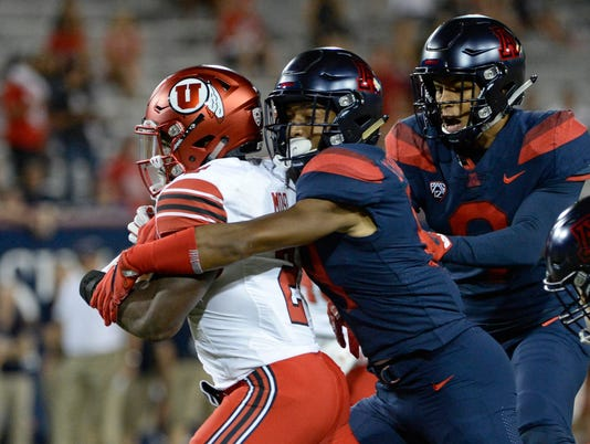 NCAA Football: Utah at Arizona