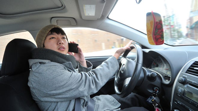 Motorists in Wausau face $40 tickets under a city ordinance against using a cellphone while driving.