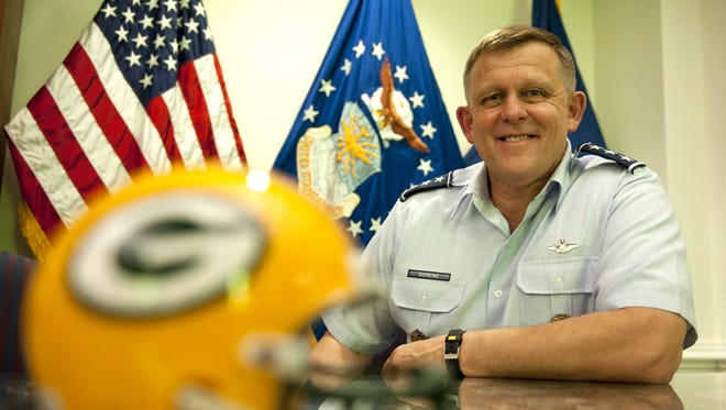Frank Gorenc is a four-star general who grew up in Milwaukee. He is retiring after serving as commander of U.S. Air Forces in Europe and Africa.