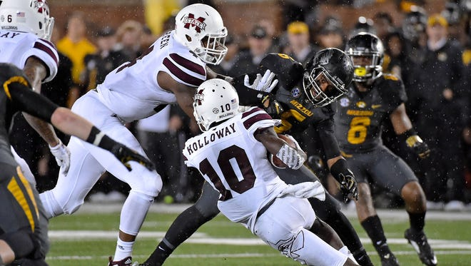 Mississippi State's inconsistent running game could be an advantage heading into a matchup with Alabama.