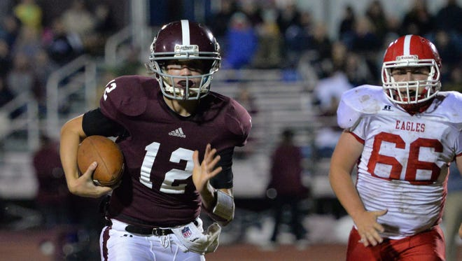 Westmoreland defeated Eagleville 34-7 on Friday.