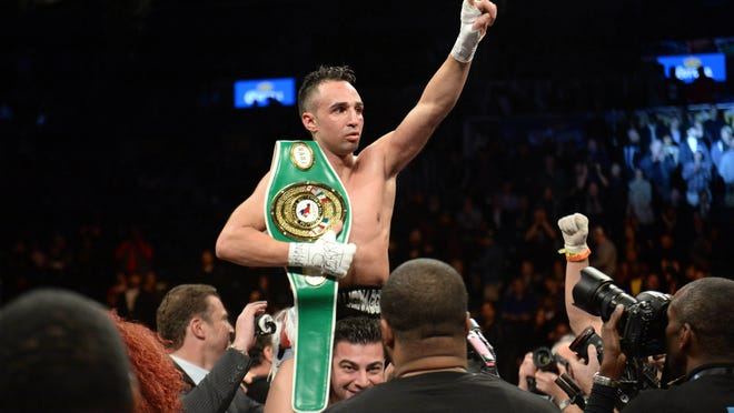 Paulie Malignaggi will prove he's still among the elite, his manager says. (Joe Camporeale-USA TODAY Sports)