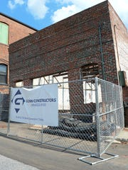 Glenn Constructors is renovating a future sushi restaurant on Federal Street in downtown Anderson.