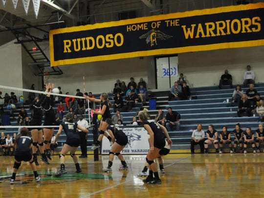 The Lady Warriors fell to Hope Christian 26-24,25-20,