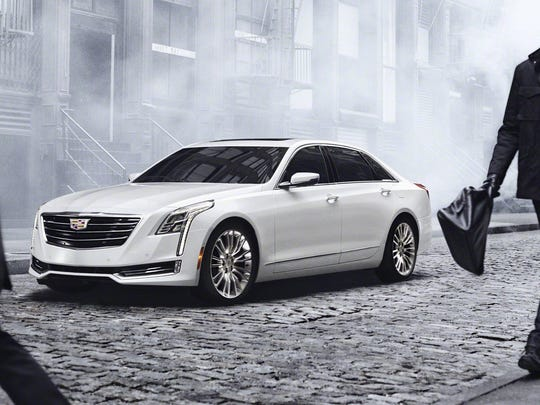 The 2016 Cadillac CT6 is the brand's latest attempt to sell a large sedan. It'll be built in Detroit-Hamtramck plant late this year.