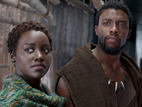 "Lupita Nyong'o and Chadwick Boseman star in ""Black"