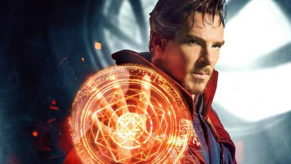 Benedict Cumberbatch stars as the Marvel superhero