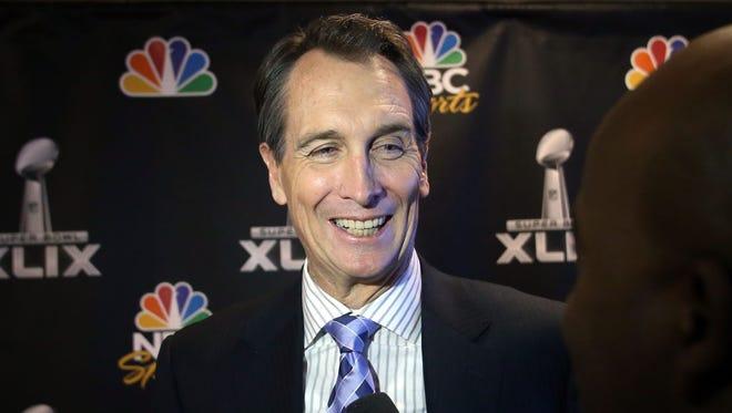 NBC Sports analyst Cris Collinsworth.