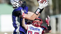 Game summaries,statistics from state playoff football games across the state