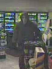 Southern Regional Police are looking for information about a man who they say robbed the Shrewsbury Rutter's shortly after 3 a.m. Sunday.