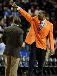 Former NBA and Auburn basketball player Chris Porter