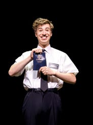 A.J.Holmes stars in 'The Book of Mormon.'