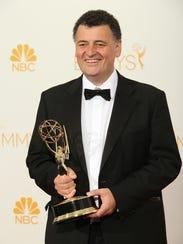 Steven Moffat, seen here after winning an Emmy for