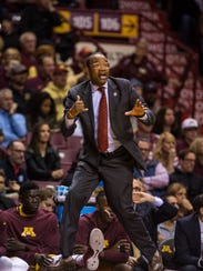 Minnesota assistant coach Kimani Young.