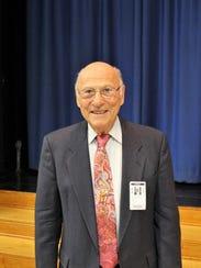 Erwin Ganz's vibrant smile following his presentation