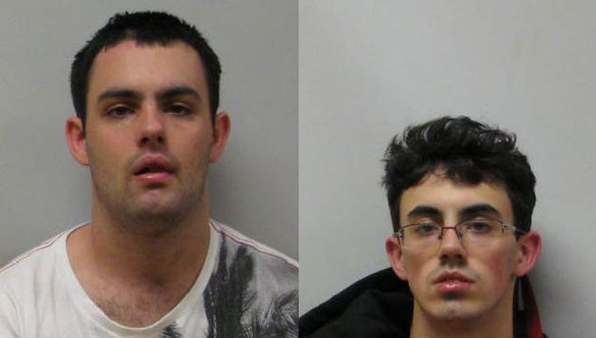 Nicholas and Jake Smith are being held on robbery charges out of Chesterfield Township.