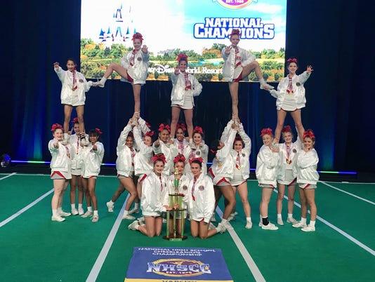 Fishers High School cheerleading
