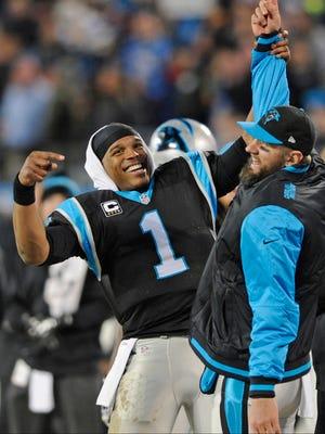 Carolina Panthers quarterback Cam Newton has helped lead his team to the NFC Championship this season.