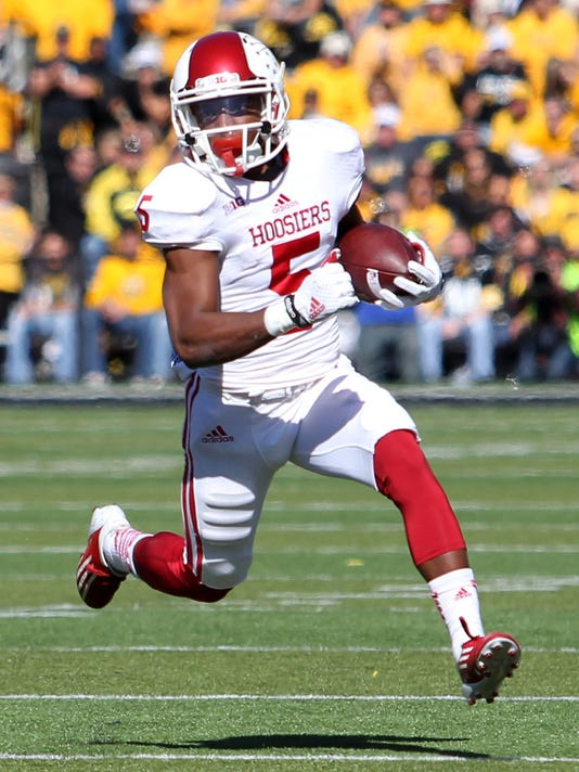 NCAA Football: Indiana at Iowa