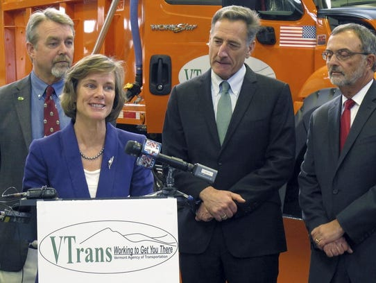 Incoming Vermont Transportation Secretary Sue Minter