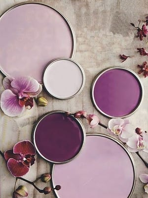 Pantone launched Radiant Orchid, the 2014 color of the year.