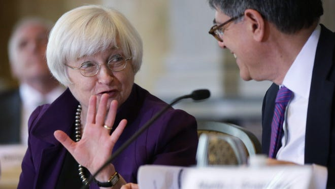 Federal Reserve chief Janet Yellen.
